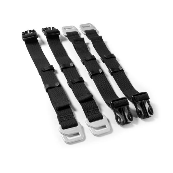 Kriega US-DryPack Hook Strap Ersatzhakenriemen, 4 Stück